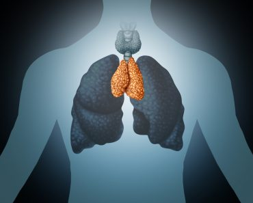 Figure showing human lung icon