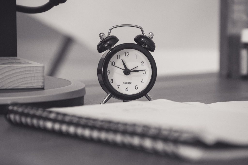 Time managrement clock for test taking